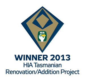 Winner 2013 - Tasmanian Renovation/Addition Project